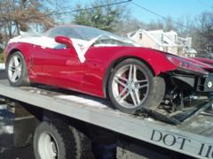06 ZO6 FOR PARTS ONLY