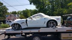 2008 Corvette FOR PARTS