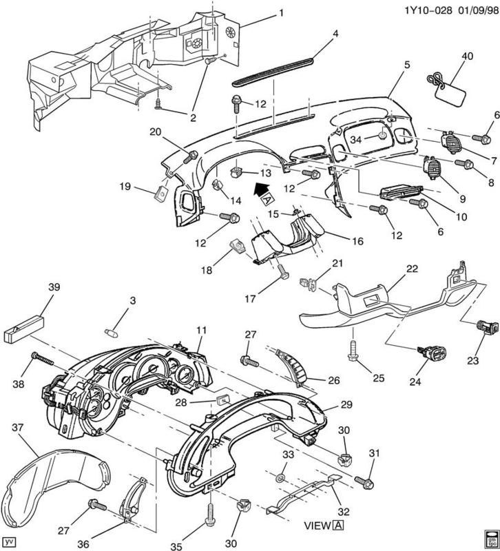 C5 Corvette Headlight Wiring Diagram