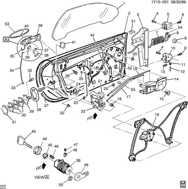 97 04 corvette c5 body wiring grommet 10412644. Black Bedroom Furniture Sets. Home Design Ideas