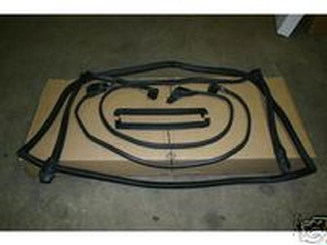 84-89 Corvette Weatherstrip Kit