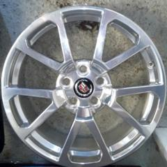 09-14 Cadillac CTSV Polished 19x9 Wheel Front