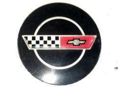 84-85 Corvette C4 Center Cap Black Used