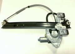 06-09 Trailblazer SS Right Rear Window Regulator And Motor 15893783