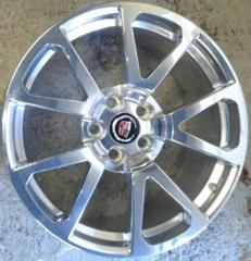 09-14 Cadillac CTSV Polished 19x10 Wheel Rear