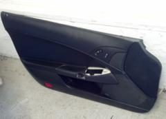 05-13 Corvette C6 Passenger Side Door Panel Black 15212260