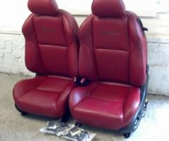 04-05 Pontiac GTO Front Seats Red
