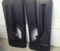 00-02 Camaro SS Driver And Passenger Interior Door Panels 10414681 10414680