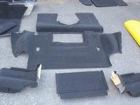 97-04 Corvette C5 Original Factory Black Carpet Coupe (FULL SET)