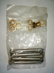 68-82 Corvette Door Hinge Pins With Bushings