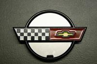 85-90 Corvette Valve Cover Emblem New Reproduction